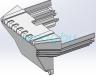 Передняя торцевая декоративная заглушка для Inmotion L8, L8F