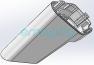 Нижняя декоративная накладка рулевой стойки для Inmotion L8, L8F