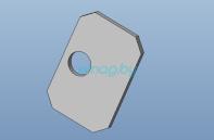 Основание пружины кнопки блокировки двигателя для Inmotion V10, V10F