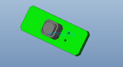 Плата кнопки блокировки двигателя для Inmotion V10, V10F