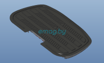 Резиновое покрытие педали для Inmotion V10, V10F