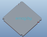 Крышка панели для Inmotion V10, V10F