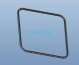 Влагозащитная резиновка прокладка панели для Inmotion V10, V10F