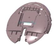 Внутренняя боковина для Inmotion V5, V5F