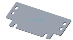 Пластина радиатора для Inmotion V5, V5F