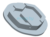 Логотип педали для Inmotion V5, V5F