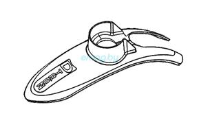 Переднее крыло для Dualtron 2S, Limited, Ultra, Raptor