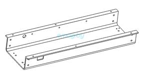 Нижняя рама деки для Dualtron 2S, Limited, Ultra, Raptor