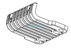Передний бампер деки для Dualtron 2S, Limited, Ultra, Raptor