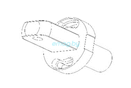 Узел складывания нижняя часть для Dualtron 2S, Limited, Ultra, Raptor
