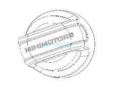 Резиновый колпачек винта для Dualtron 2S, Limited, Ultra, Raptor