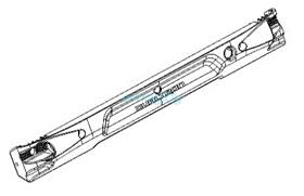 Правая боковая крышка деки для Dualtron 2S, Limited, Ultra, Raptor